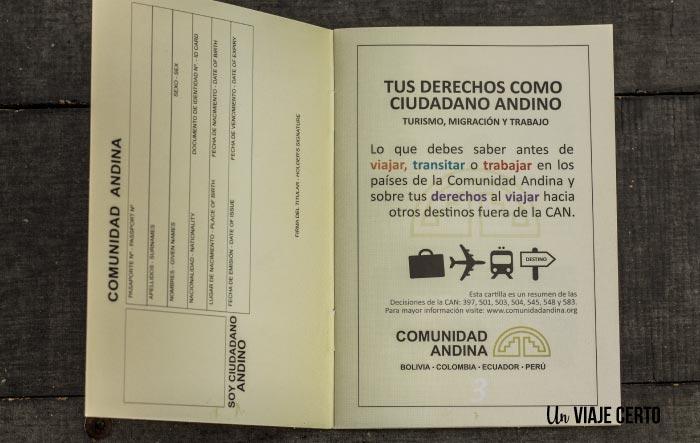 Derechos de los ciudadanos de la Comunidad Andina