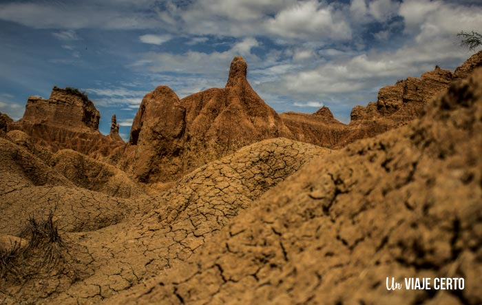 Texturas del desierto de la Tatacoa