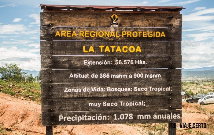 Información sobre el desierto de la Tatacoa