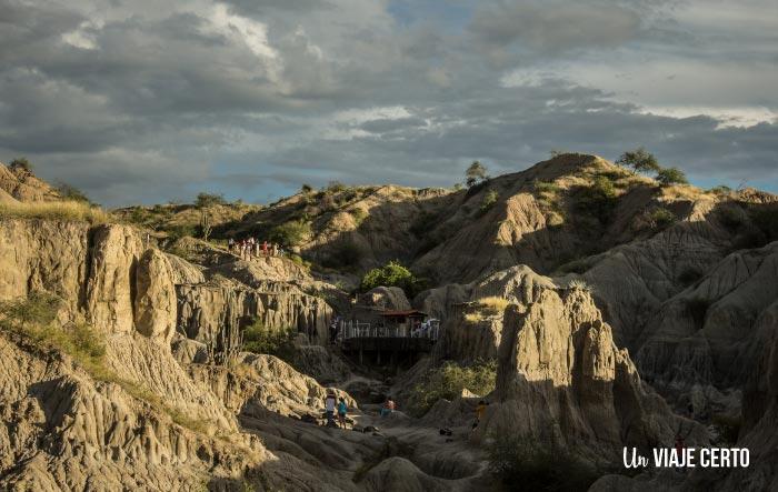 Piscina sector los Hyos en el desierto de la Tatacoa