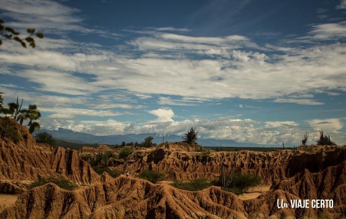 Caminata por el sector el cuzco en el desierto de la Tatacoa