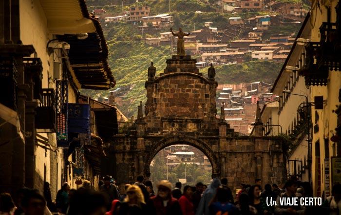 Cusco Perú yendo hacia el mercado San Pedro