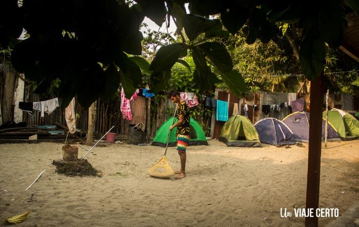 Camping de Nelly en Capurganá