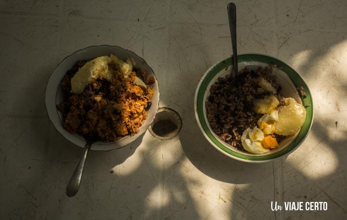 Comida en Capurganá