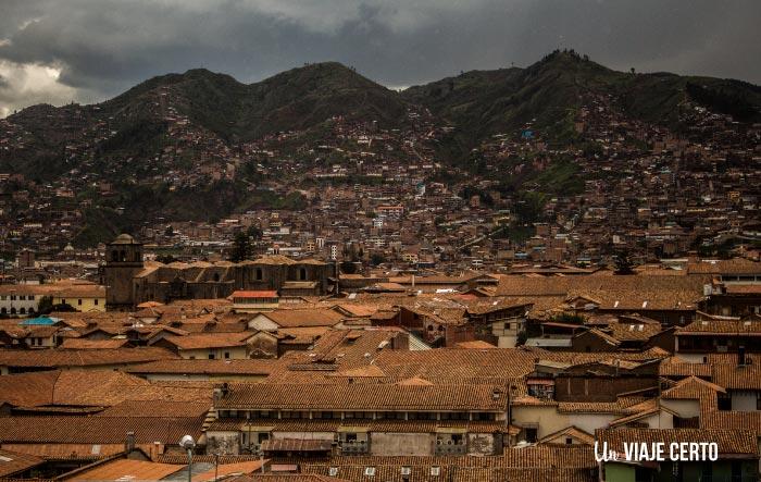 Panorámica de Cusco