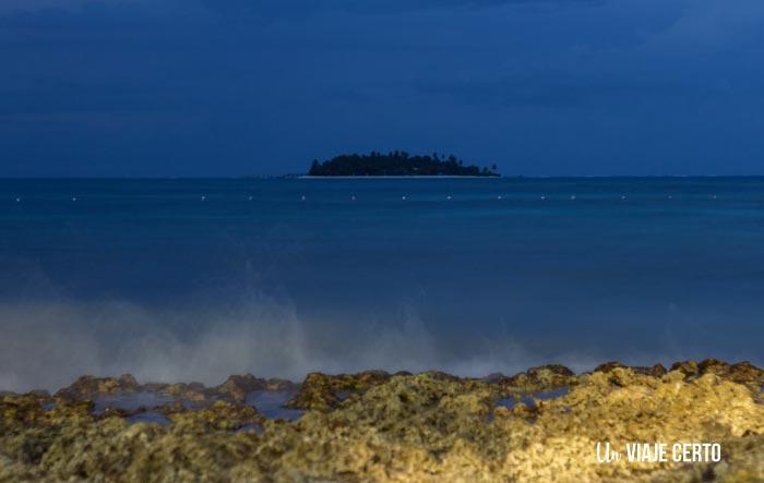 Playa de San Andrés en la noche