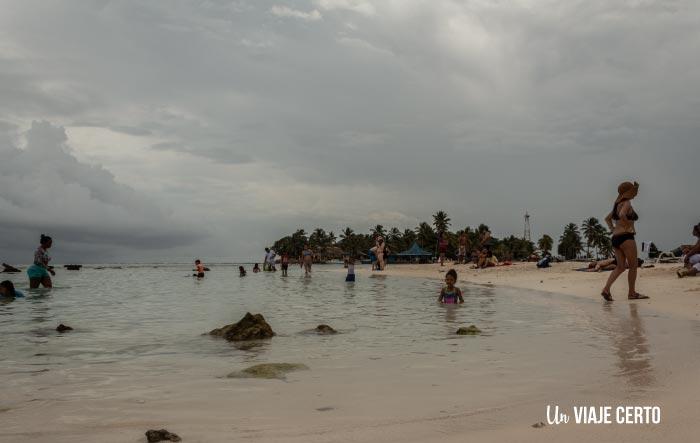 Turismo en el acuario de San Andrés