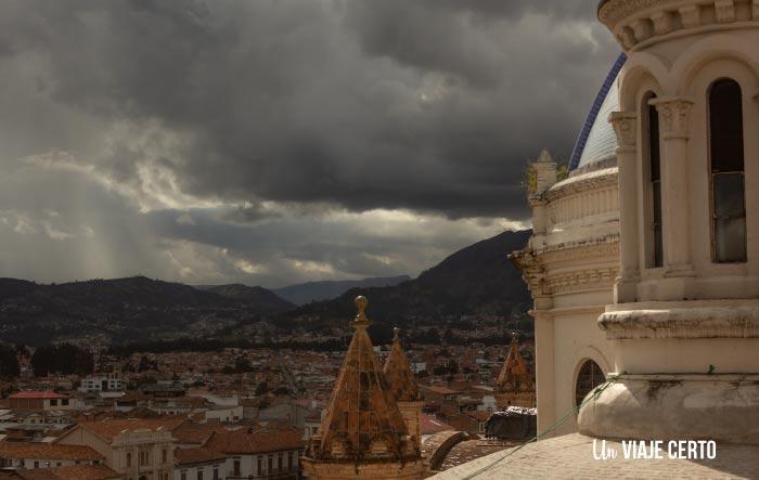 Vista desde la Catedral de la Inmaculada Concepción