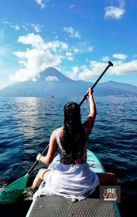 Paddle board en el Lago Atitlán