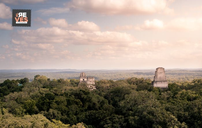 panoramica de tikal desde el templo iv 1