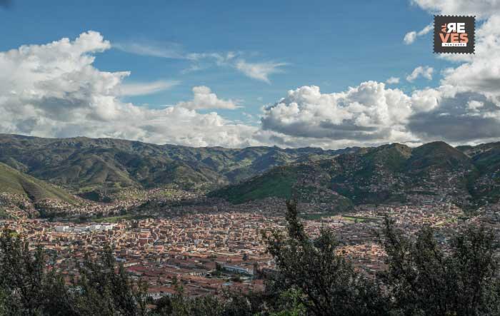 Panorámica de Cusco, Perú