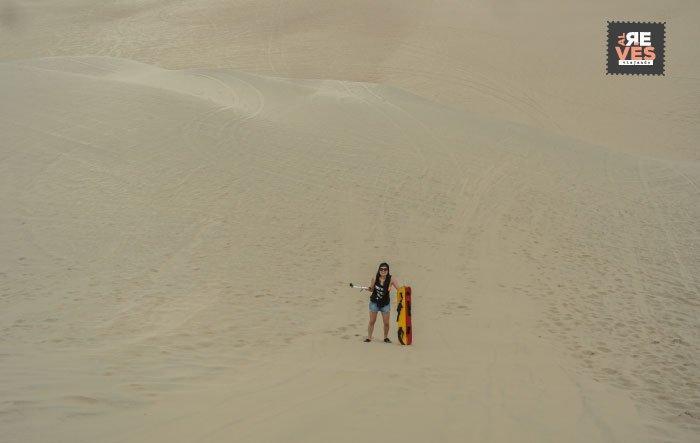 Viajar a Huacachina y hacer sandboard