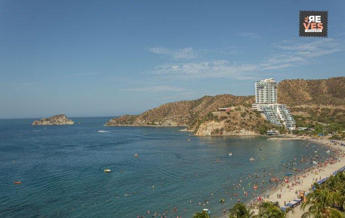 Playa de El Rodadero Santa Marta