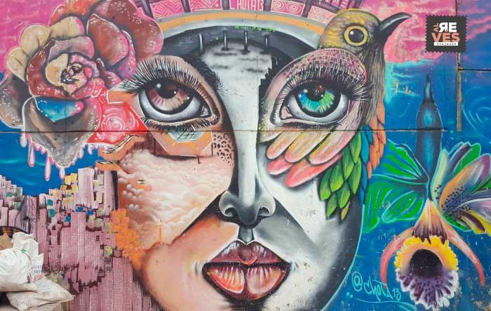 Graffiti tour comuna 13