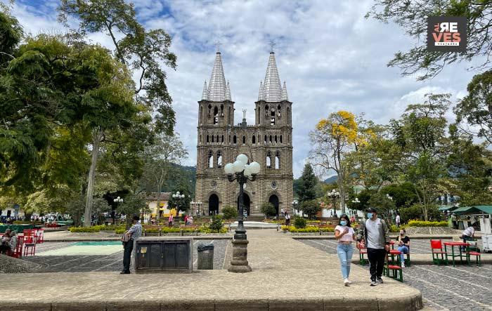 Parque principal de Jardín Antioquia
