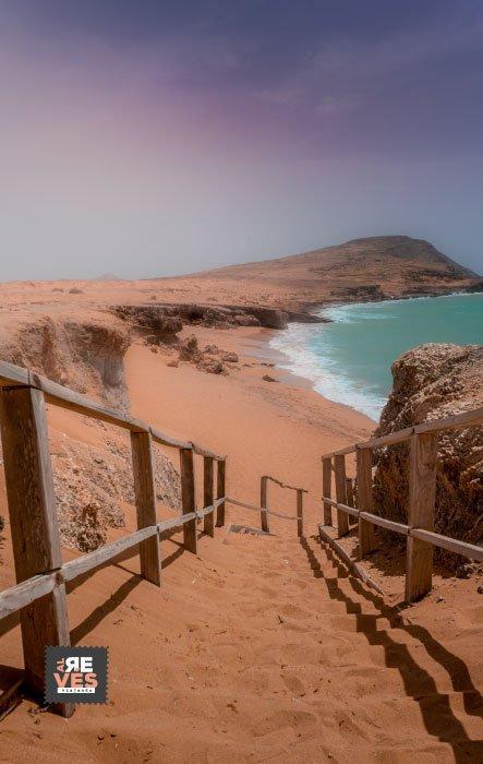 Playa del Pilón, Cabo de la Vela