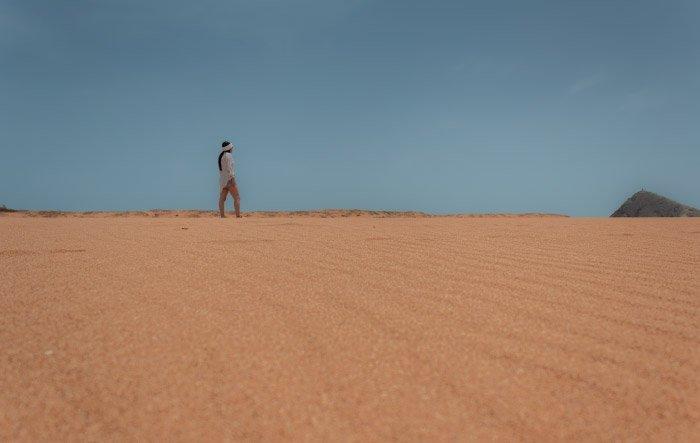 Retrato en el desierto de La Guajira