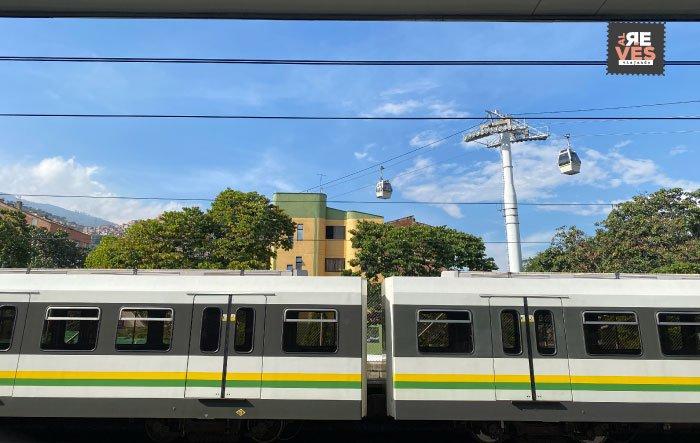 Sistema de transporte Metro de Medellín