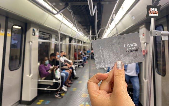 Tarjeta cívica del Metro de Medellín